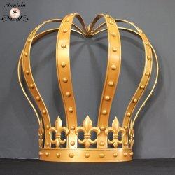 Proveedor de la boda de la corona de hierro para la boda decoración telón de fondo etapa