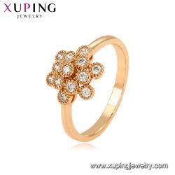 La figura del fiore progetta l'anello di barretta per le ragazze