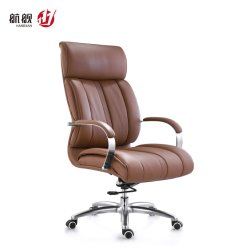 Populaire High Back Boss Swivel Revolving Manager Executive Office computer Lederen stoel