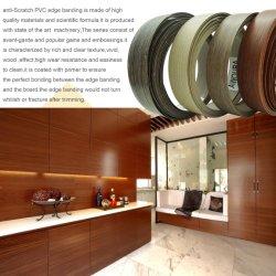 Normallack Belüftung-Lipping/Rand-Streifenbildung hoch glatte/des Woodgrain-PVC/ABS
