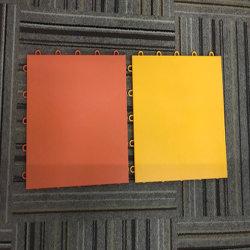 Modulares de plástico de buena calidad de enclavamiento interior cancha deportiva azulejos pavimentos