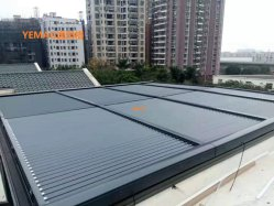 선음영 지붕 수평 알루미늄 롤링 셰이드 롤러 셔터/블라인드/알루미늄 롤링 커튼