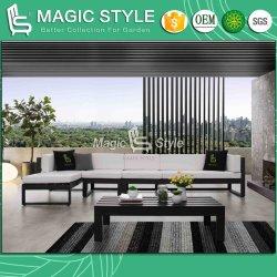 Сад алюминиевых диван с PU подушка для использования вне помещений шезлонгами с технологией порошковой окраски патио мебель современная полимерная дерева чай в таблице