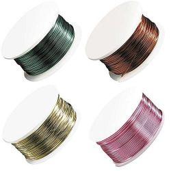 Arts et Métiers de la production de soie de peinture de toutes sortes de couleur du fil de fer en plastique peinte à la peinture de la soie de soie