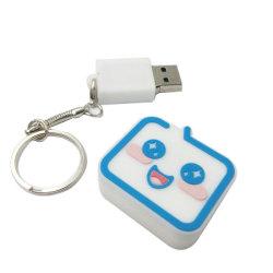 Персонализированный логотип торговой марки ПВХ флэш-накопитель USB с цепочки ключей USB2.0 USB3.0 4 ГБ 8 ГБ 16ГБ 32ГБ 64ГБ