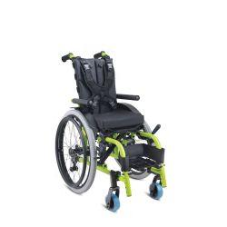 الجهاز الطبي كرسي متحرك للأطفال من الألومنيوم اليدوي