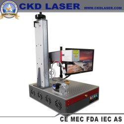 Laser à fibre pour logo en métal Marquage facile Whout Leaning