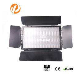 Профессиональной студии освещения сцены фотографии Плоские светодиодные лампы видео