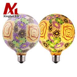 G125 G40 modèle personnalisé Globe Décoration Lampes à LED