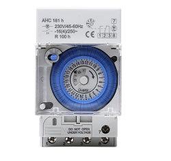 220V-240V 16 (4)毎日DINの柵のプログラム可能な電気自動機械タイマースイッチ
