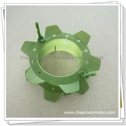 中国型の工場はダイカストの工具細工部品の世帯のための二重プラスチック注入型かMolding CompanyのABS/PC/POMの電子製品をカスタム設計する