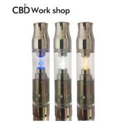 Heureuse solution 1,25 USD! L'2018 Newest Cbd avec LED d'atomiseur CBD Cartouche d'huile pour la CDB Vape Pen lu