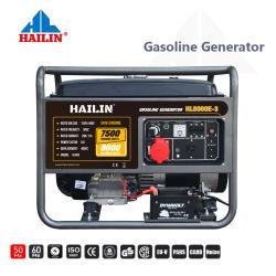 8kw générateur à essence avec kit de roue générateur puissant portable