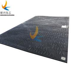 Keine temporären Straßen-Matten des Bruch-Polyäthylen-Plastiksumpf-Bodenmatten-Hochleistungsölplattform-Bereich-UHMWPE