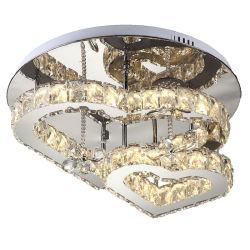 LED lampe de plafond de cristal moderne pour décoration lumière d'accueil
