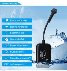 Allarme disconnessione alimentazione Mini Tracker Car GPS monitoraggio in Tempo reale su SMS, Web o APP (MT05-JU)