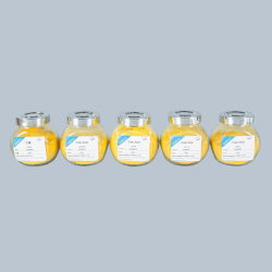 El ácido fólico vitamina B9 Polvo amarillo con alta calidad
