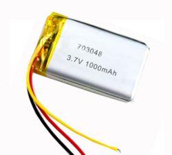 بطارية ليثيوم أيون 3.7 فولت 703048 1000 مللي أمبير/ساعة قابلة لإعادة الشحن