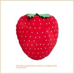 Роскошные большие подушки клубнику фрукты игрушки комфорт продовольственной