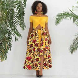 Африканские женщины мода печать женщин платья, юбки поршня