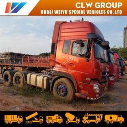 China utiliza HOWO/Dongfeng/FAW/Shacman usadas de camión volquete camión de carga de la cabeza del tractor