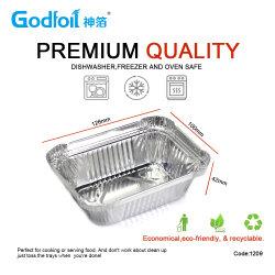 Ingeniero de plata fabricante de papel de lámina de aluminio Tapa para contenedor de envasado de alimentos