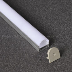 LED pour LED de profil aluminium extrudé barre rigide lumière