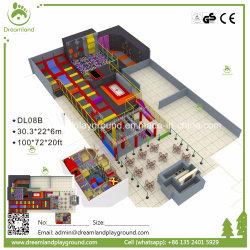 Большой отскок коммерческий Увеселительный Парк батут внутри помещений для продажи