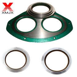 Fabricante profissional fornece os óculos da bomba de concreto a placa e o anel de corte