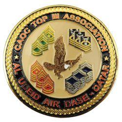 Aangepaste Metal Crafts 3D Logo Soft Emaille Challenge Coin Military Police Award-souvenirmunten voor Promotiegeschenk