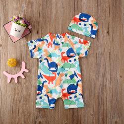 아이들 수영복 아이 바닷가 입욕이 새로운 여름 소년 아기 수영복 유아 유아에 의하여 농담을 한다