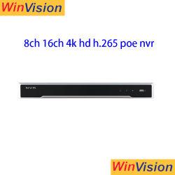 Ds-7616ni-I P2/8и Ds-7616ni-I p Hikvision2/16версии оригинала на английском языке сетевой видеорегистратор 8CH 16CH 6MP Poe Hikvision сетевой видеорегистратор