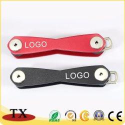 Алюминиевый корпус из высококачественного металла цепочке для ключей и ключевые данные органайзера