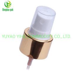 Het Bespuiten van het Parfum van het Lichaam van Luxurios Gebruik 24/410 Sluiting van de Deklaag van de Aluin van de Spuitbus van de Mist Gouden