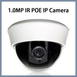 caméra de sécurité d'intérieur en plastique de télévision en circuit fermé de réseau de dôme d'IP 1.0MP