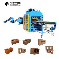 Qt 4-10 Automatisch Elektrisch Concreet Blok die de Baksteen van de Machine maken