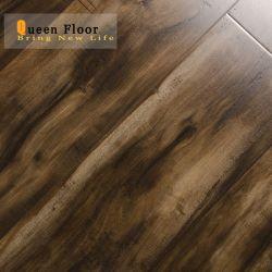 Exportar diseño Popular sombra color madera Piso Laminado 8mm 10mm 12mm o piso flotante Eir