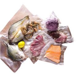 Sacchetto di nylon libero di imballaggio di plastica di vuoto del commestibile del sacchetto della storta per il pollo/pesci /Meat/Ham