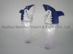 Usine professionnel Logo personnalisé conduit en plastique Tasses Tumbler requin