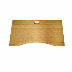 Estación de trabajo ajustable de bambú sólido mesa