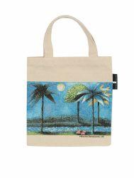 La promotion de l'épaule de l'école Livre sacs fourre-tout en toile de coton un sac de shopping