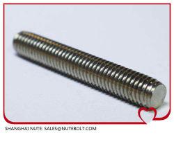 La varilla roscada de acero inoxidable 304 y 316, DIN DIN975976