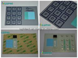 シルクスクリーンの印刷を用いる産業キーパッドのパネルのメンブレイン・キーボード