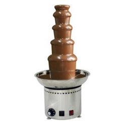 Fontana della fonduta di cioccolato della macchina della fontana del cioccolato delle 5 file