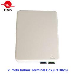 2 puertos en el interior la caja de bornes (PTB028)