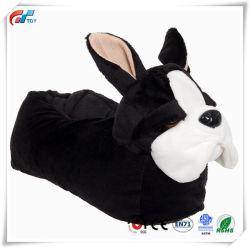 Bouledogue français chien animal en peluche Indoor pantoufles