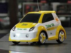 Nuevo diseño de bricolaje único coche solar Toy