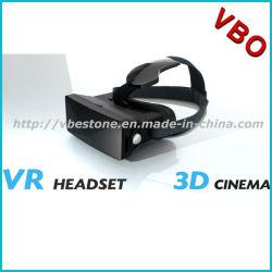 2016 mais novo fone de ouvido Vr de Realidade Virtual Flexível Imax Cinema Vídeo óculos 3D para jogos de filmes 3D