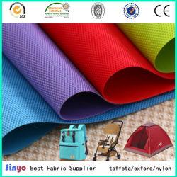 100% de Met een laag bedekte Stof van de Polyester pvc voor Schorten met Zachte Handfeeling