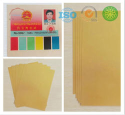 A4 Carte de crédit jet d'encre en PVC imprimer des feuilles